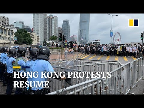 Hong Kong faces more protests against extradition law change