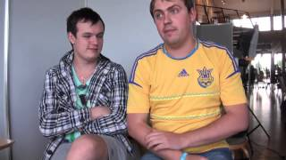 Почему Соло 322? interview with v1lat and XBOCT @ DreamHack Summer 2013 with English subtitles