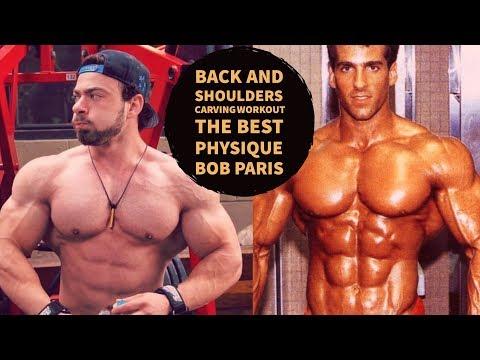 Back and Shoulders CARVING Workout | Old School | Cem Poyraz | Bob Paris Tribute