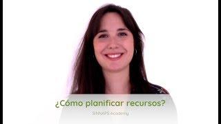 ¿Cómo planificar recursos?