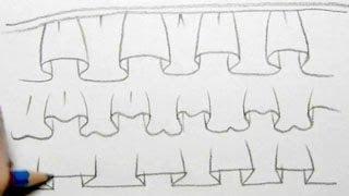 How to Draw Basic Ruffles 3 Ways