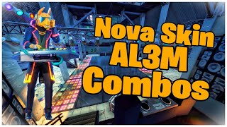 SHOWING THE * NEW * SKIN AL3M & COMBOS | FORTNITE