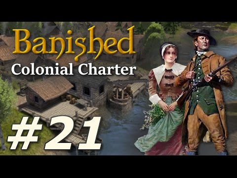 Banished: Colonial Charter (v1.71) - New Cardiff (Part 21)