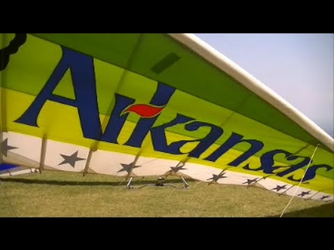 Into The Air: The Mount Nebo Hang Glider Fly In
