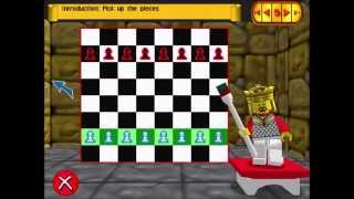 LEGO Chess - Tutorial 1: The Board, Pawns, Knights [Book 1 part 1]