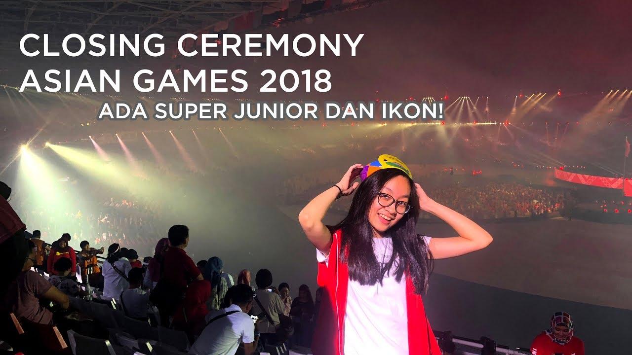 JVLOG : Nonton Closing Asian Games SERU? Ujan-ujanan sama koko