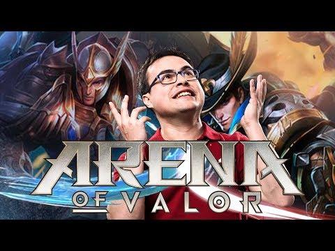 TENCENT SACA UN MOBA 5v5 PARA MÓVILES EN EUROPA | Arena of Valor