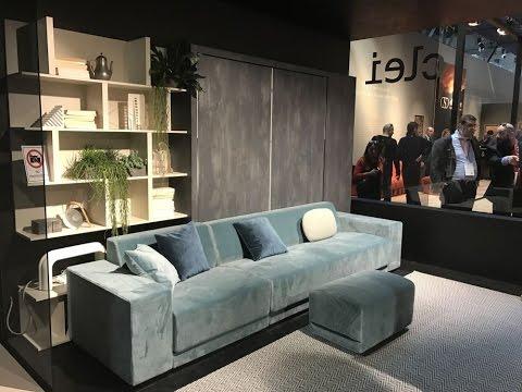 Salone Del Mobile 2017 - CLEI 3XL Free Extending Living Concept