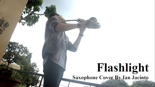 Flashlight (Pitch Perfect 2) - Saxophone Cover by Ian Jacinto