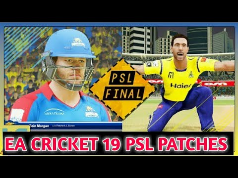 How To Download EA Cricket 19 On Android | Ea Cricket 19 PSL Patches For Android With Gameplay