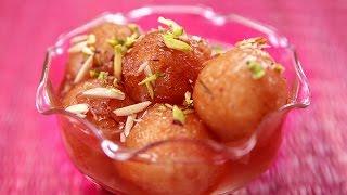 Bread Gulab Jamun Recipe | Instant Gulab Jamun | How To Make Gulab Jamun From Bread | Ruchi Bharani