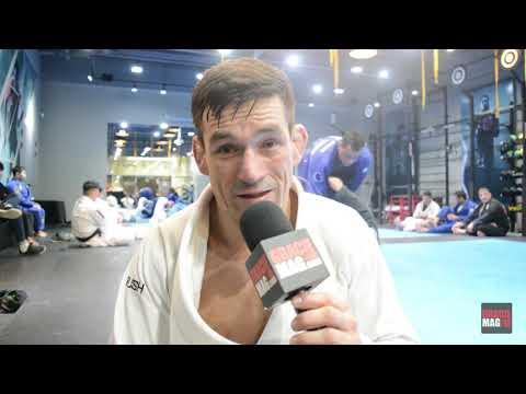 Demian Maia chega na Coreia e analisa nova geração do Jiu-Jitsu
