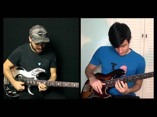 Slap Bass Battle - Davie504 & Miki Santamaria