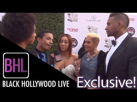 Welcome to Sweetie Pie's Cast @ NAACP Image Awards Red Carpet | Black Hollywood Live Interview