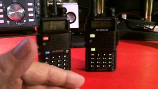 TRRS #0643 - Baofeng UV-5R compared to new UV-5R5(In this show I compare the brand new Baofeng dual band hand held amateur radio, UV-5R5 to the older UV-5R. If you found this video useful, please share ..., 2015-08-28T12:41:31.000Z)