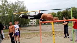 Мастер класс от КаЗаКа брусья спорт!!!