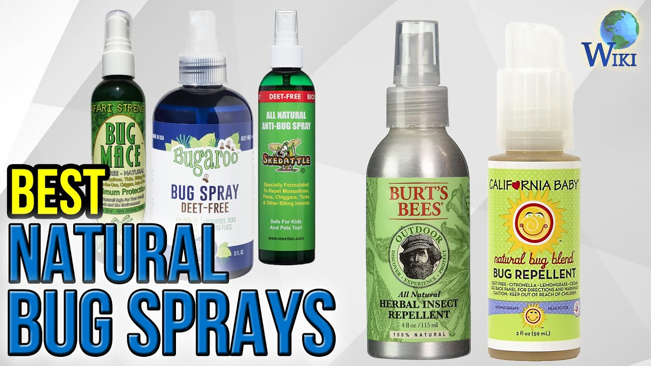 10 Best Natural Bug Sprays 2017 You