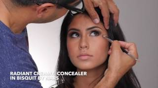 Dramatic Eyes & Nude Lips MakeUp Tutorial By Celebrity MakeUp Arist Ermahn Ospina