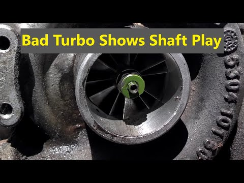 slight play in turbo shaft
