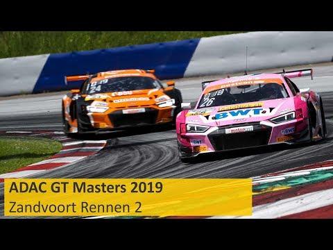 ADAC GT Masters Rennen 2 Zandvoort 2019 Re-Live Deutsch