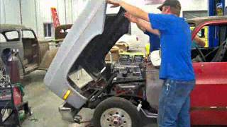 Blown Pro Street Chevy Truck 4