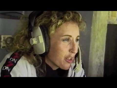 Jenny Williams Commentating on 5DN