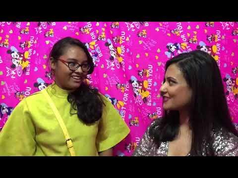 Torsha Sarkar Meeting Diya Mehta In Lagos