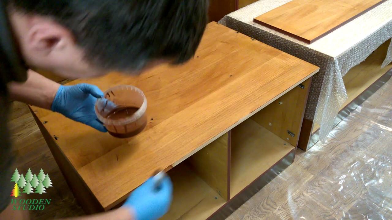 Реставрация деревянной мебели своими руками фото 492