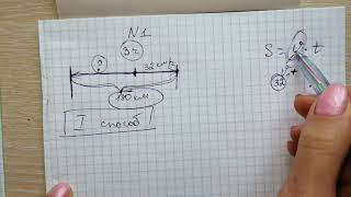 Задача 1 на движение в противоположных направлениях. Найти Скорость. 1-4 класс. Начальная школа