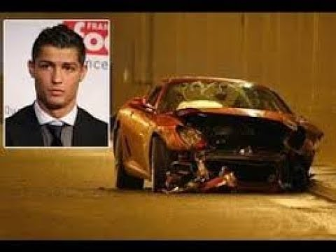 cristiano ronaldo and son car accident in portugal and admitted in hospital full live real. Black Bedroom Furniture Sets. Home Design Ideas