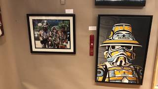 Best Of Show - Paintings Drawings Graphics Photography | Santa Fe Indian Market 2018 Clip 2
