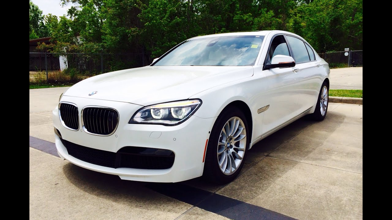 2014 BMW 750Li M Sport Sedan Start Up Exhaust And In Depth Reviews