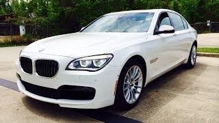 2014 BMW 750Li M Sport Sedan Start Up, Exhaust and In Depth Reviews