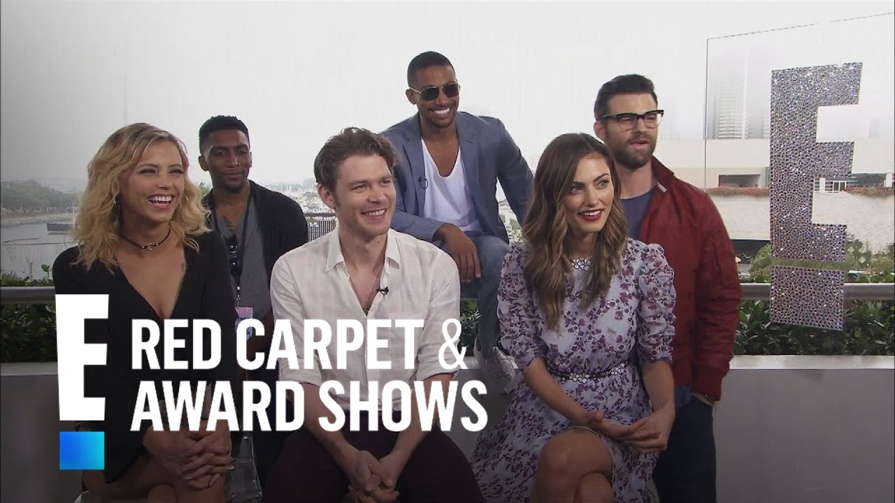 """Download """"The Originals"""" Cast Says Goodbye to """"The Vampire Diaries""""   E! Red Carpet & Award Shows"""