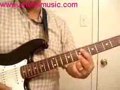 Silver Bells Chord Melody lesson