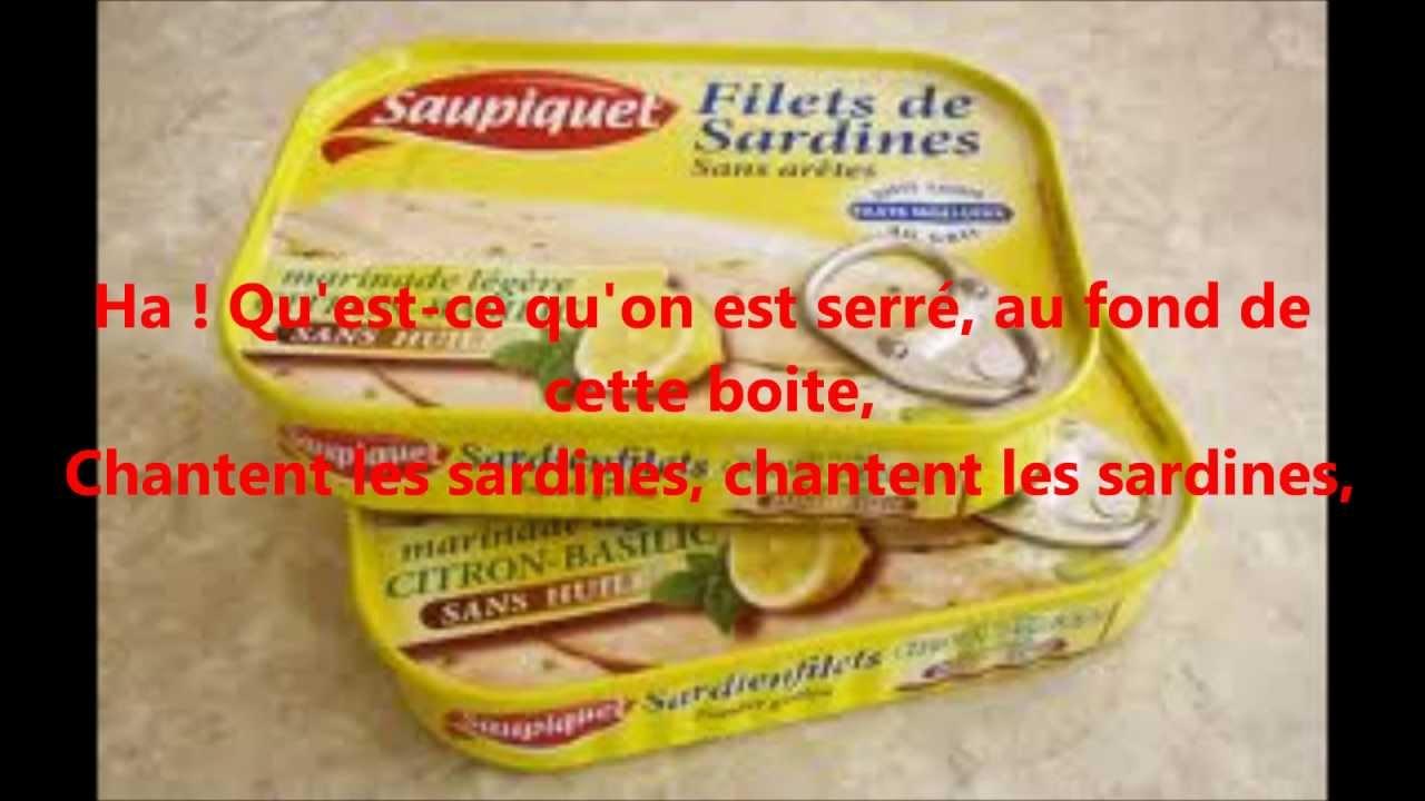 patrick sebastien chante les sardines