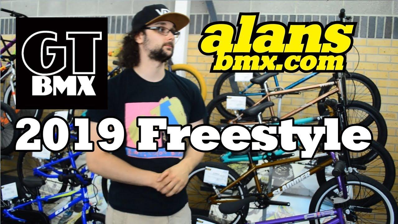 c62611790b3 AlansBMX - 2019 GT BMX Freestyle Bikes Overview - YouTube