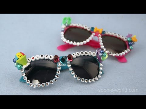 """How to Make """"Word Up"""" Sunglasses 