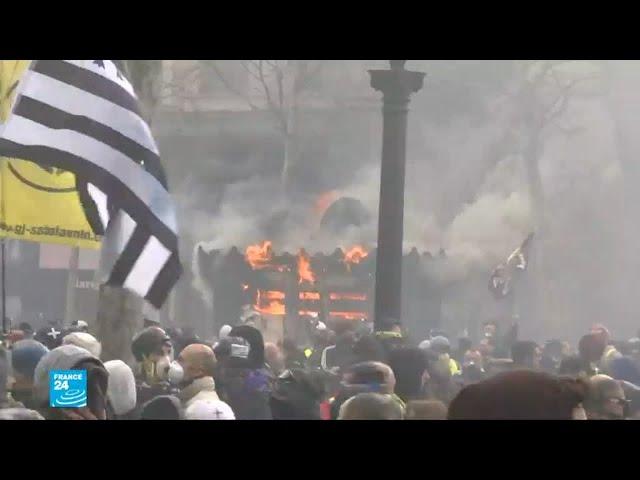 فرنسا: تعزيز التعبئة بعناصر من الجيش لحفظ النظام