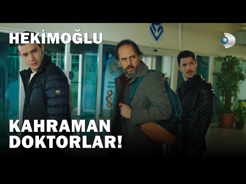 Ateş Ile Ekibi, Ahmet Ve Cem'in Hayatını Kurtardı!   Hekimoğlu 13 Bölüm
