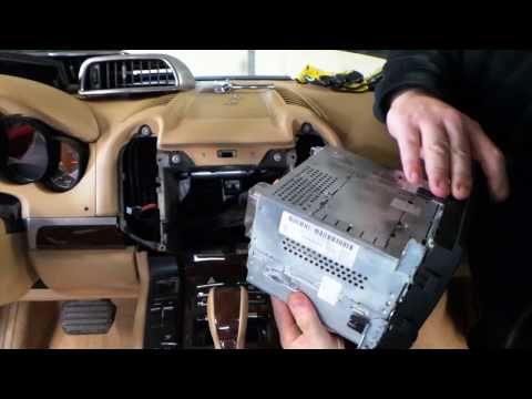 11-16 PORSCHE CAYENNE VENTS & RADIO DISASSEMBLY REMOVAL DISMANTLING REPLACEMENT