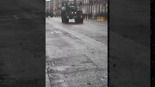 Tractor protest arrives in Dublin city