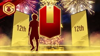 12TH IN THE WORLD FUT CHAMPIONS REWARDS & DIVISION 1 FUT RIVALS REWARDS | FIFA 19 ULTIMATE TEAM