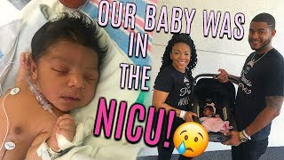 OUR BABY WAS IN THE NICU | HER JOURNEY TO COMING HOME!!!!! VLOG#20