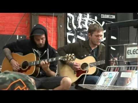 July 20 2012 Gaslight Anthem Soundgarden Instore Performance