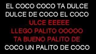 PALITO DE COCO KARAOKE ORIGINAL
