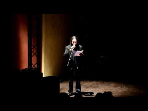 Me Performing At The Theatre - Dante Alighieri