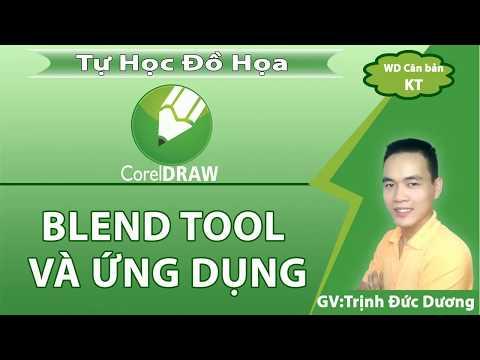 Hướng dẫn sử dụng CorelDraw cho người mới bắt đầu bài 6   Blend màu
