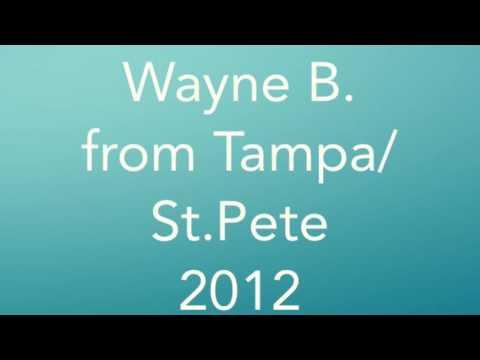 Wayne B. from Tampa Bay/ St. Petersburg