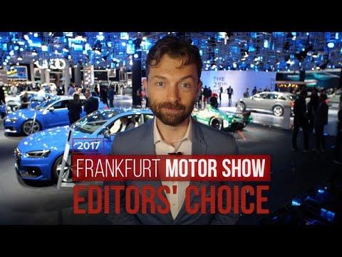 Frankfurt Motor Show 2017: Roadshow editors choose their favorites